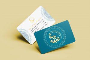 نمونه کار طراحی کارت ویزیت برای چاپخانه