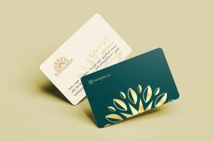 نمونه کار طراحی کارت ویزیت برای شرکت بازرگانی